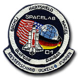 NASA STS-61A Challenger Embroidered Space Shuttle Mission Patch