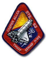 NASA STS-62 Columbia Mission Patch
