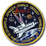 NASA STS-67 Endeavour Mission Patch