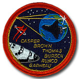 NASA STS-77 Endeavour Mission Patch