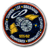 NASA STS-82 Discovery Mission Patch