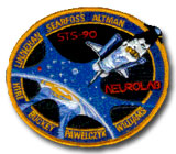 NASA STS-90 Columbia Mission Patch