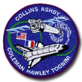 NASA STS-93 Columbia Mission Patch