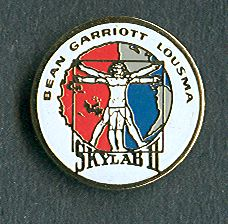 Skylab Program 3 Lapel Pin