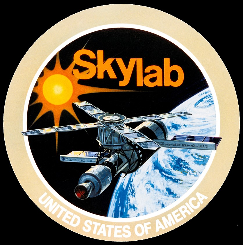 Skylab U S Space Station Program Decal