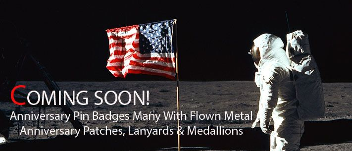 Apollo 11 50 Years Anniversary Collectibles and Memorabilia Banner