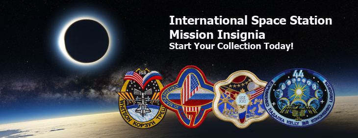 Banner for International Space Station Mission Insignia