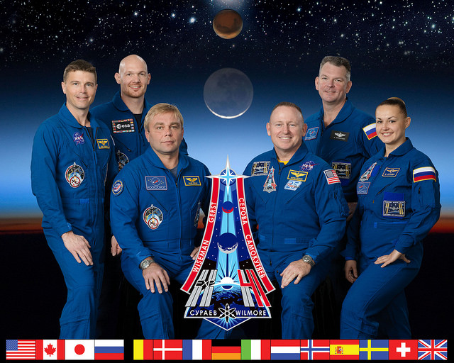 ISS Expedition 41 crew
