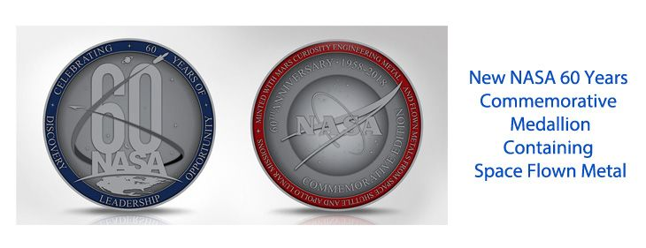 New NASA 60 Years Medallion