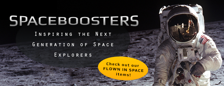 Banner for Spaceboosters Memorabilia Store - Online Space Collectables, Souvenirs